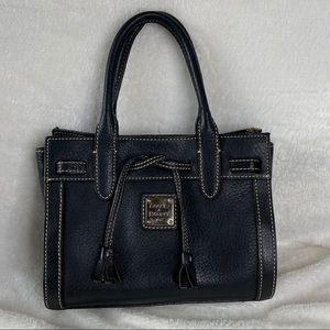 Dooney & Bourke Pebbled Black Leather Handbag